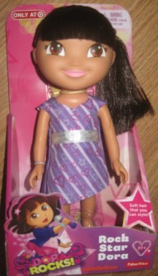 Dora the Explorer Dora Rocks Rock Star Dora 9