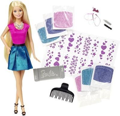 Barbie Glitter Hair Design