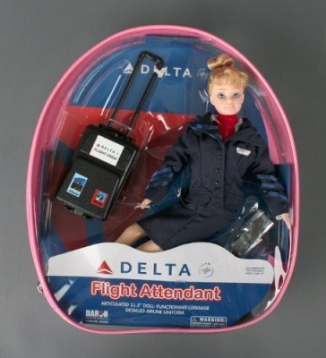 Daron Worldwide Trading Da200 Delta Flight Attendant
