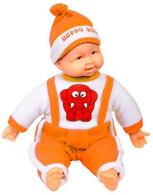 Arthr Musical Orange Happy Baby Laughing Boy
