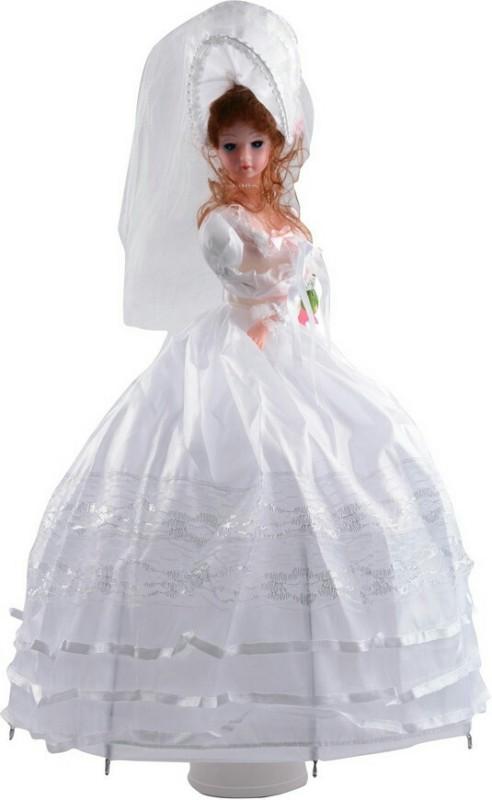 Bagiftoys Musical Umbrella Doll(White)