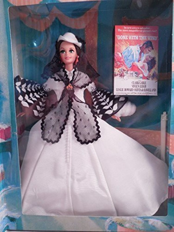 Barbie Doll As Scarlett O'Hara (Black And White Dress)(Multicolor)