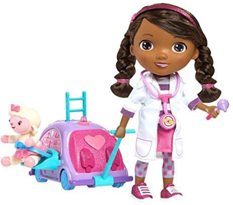 Just Play Doc Mcstuffins Walk 'N Talk(Multicolor)