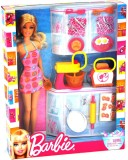 Barbie Doll and Kitchen Accessory Set (M...