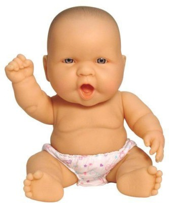 School Specialty Childcraft Lots to Love Baby Doll - Caucasian - 10 Inches (Sold Individually - Expressions Vary)