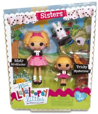 Lalaloopsy Mini Littles Tricky Mysterious And Misty Mysterious