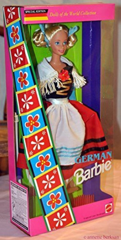 Mattel German Barbie - Dolls of the World Collection(Multicolor)