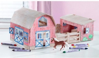 Breyer Horse Crazy Create And Color Barn