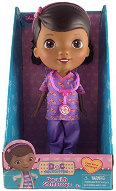 Just Play Doc Mcstuffins Scrubs Outfit Time For A Checkup Exclusive(Multicolor)