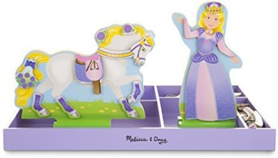 Melissa & Doug & Doug Lila & Lucky Magnetic Dress-Up(Multicolor)