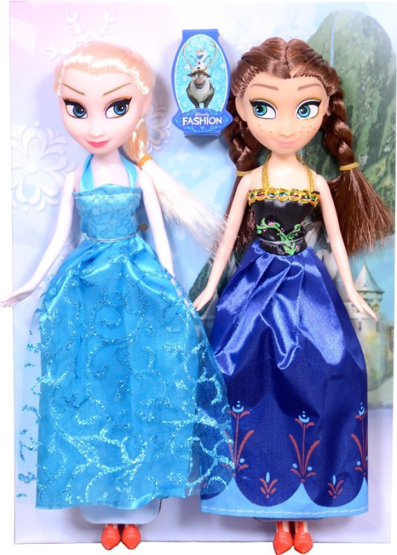 Montez Fashion Doll Snow And Ice Color -Pack of 2(Multicolor)