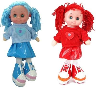 Arthr Soft & cute Blue Red Dora Baby Doll