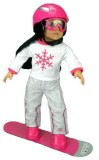 Sophia's Doll Snowboard Set Fit for 18 I...