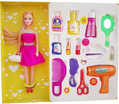 DreamBag Miss World Doll With Girl Accessories
