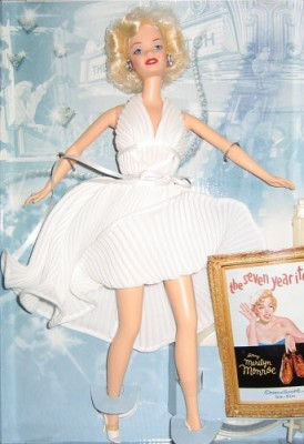 Barbie 1997 Barbie Collectibles as Marilyn - The Seven Year Itch