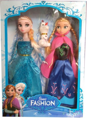 Get best deal for China Sweet Fashion Frozen Princess 28cm(Multicolor) at Compare Hatke
