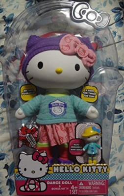 Hello Kitty And Bonus Kitty 4+ 1 Set (Dance)