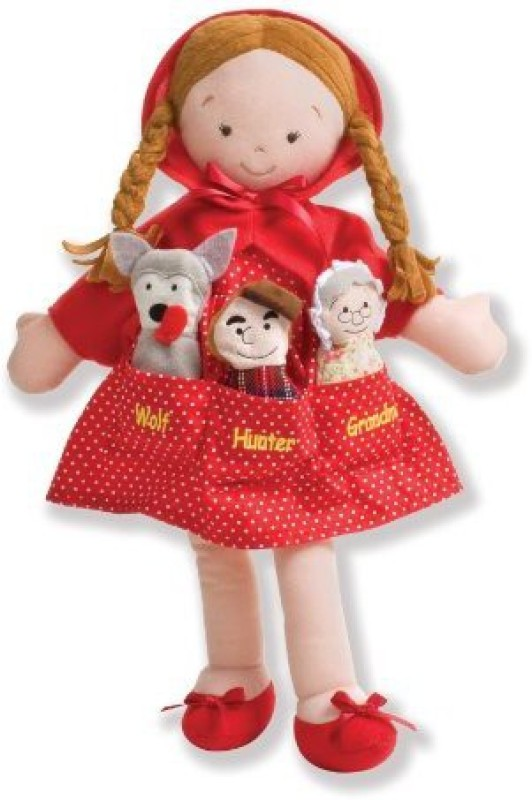 North American Bear Company Y Pockets Little Red Riding Hood(Red)