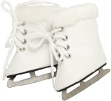 Buys By Bella White Furry Ice Skates For...