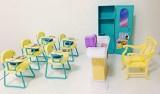 Gloria Size Dollhouse Furniture - Classr...