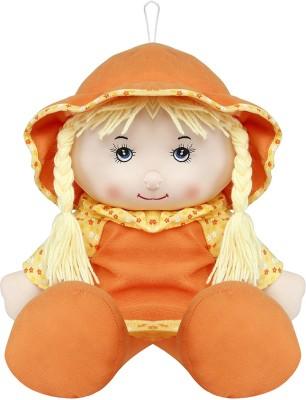 Emob Orange & Yellow Baby Rag Doll Big Size