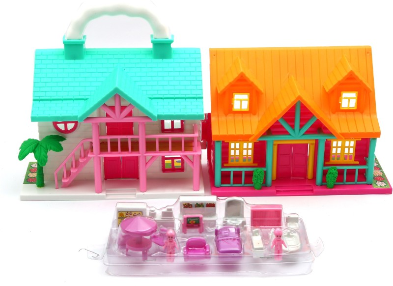 Wishkey Funny House Play Sets(Multicolor)