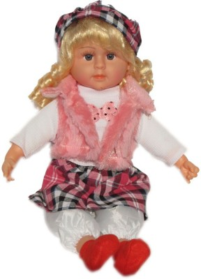 Rey Hawk Pink Tickle Doll with Music