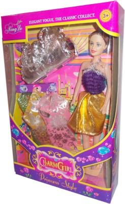 Giffi Charm Girl Purple
