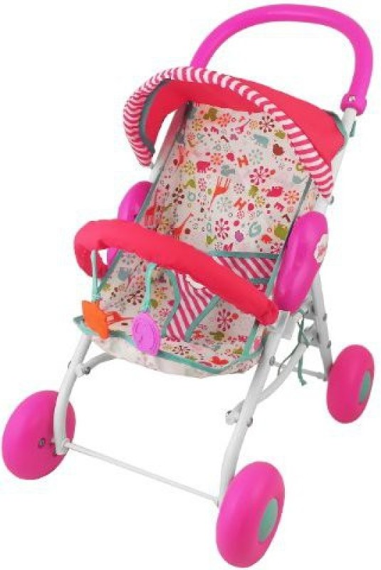 Fisher-Price Little Mommy Ba Stroller(Multicolor)