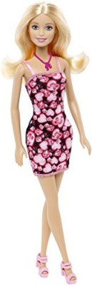 Barbie Pink-Tastic Barbie Doll, Black and Pink Dress