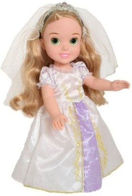 Disney Princess Rapunzel,S Wedding Dress Toddler(Multicolor)