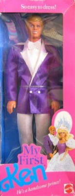 Unknown Barbie My First Ken He,S A Handsome Prince (1989)