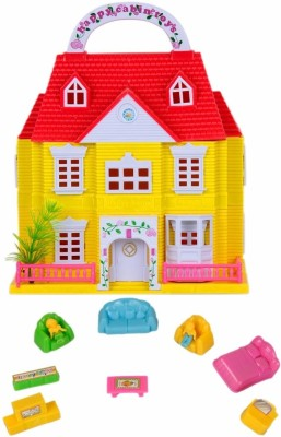 Ollington St. Collection Doll House with Furnitures