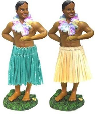 KC Hawaii Man In Dancing Pose Hula Dashboard 7