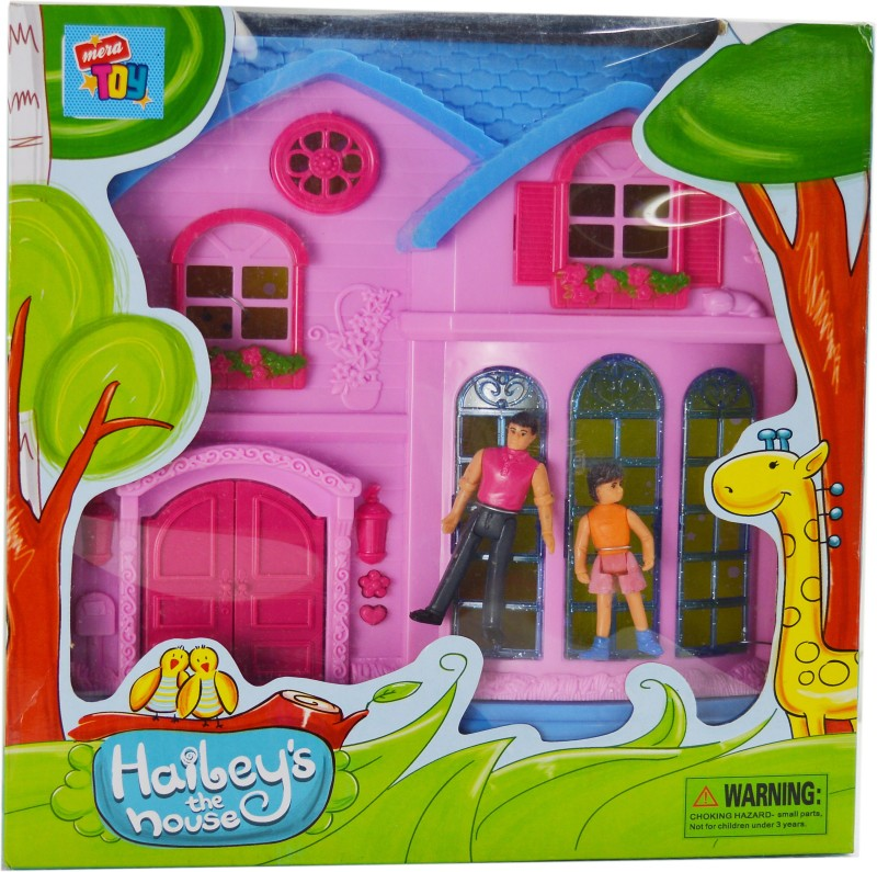 Mera Toy Shop Haibeys the house(Multicolor)