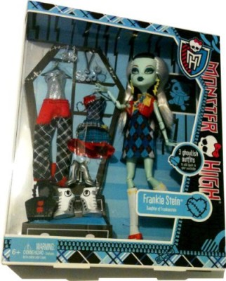 Monster High Exclusive Frankie Stein I Love Fashion And 3 Outfit Set