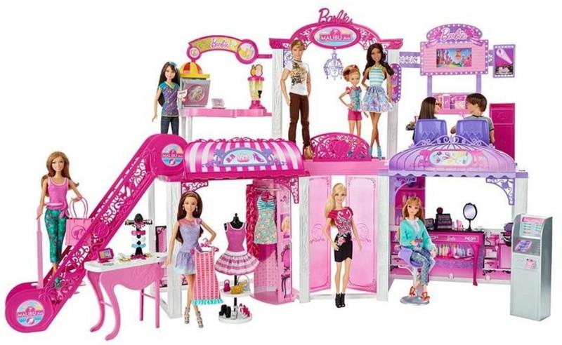Barbie BARBIE MALIBU AVENUE -MALL(Pink)