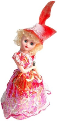 New Pinch Beautiful Pretty Dancing And Singing Doll(Color May Very)