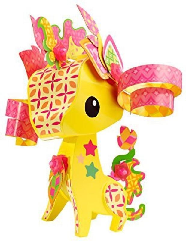Mattel AmiGami Giraffe Figure(Multicolor)