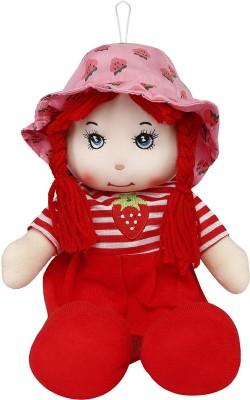 Emob Red Fabric Soft Rag Doll Big Size