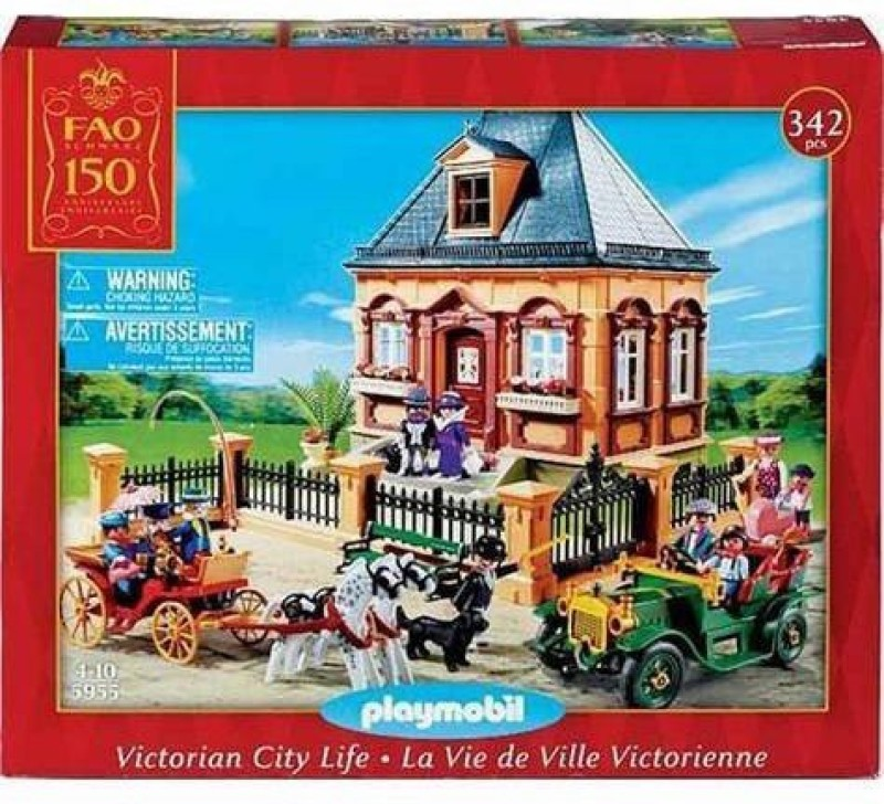 PLAYMOBIL® Fao Schwarz Anniversary Playmobil Victorian City Life Set(Multicolor)