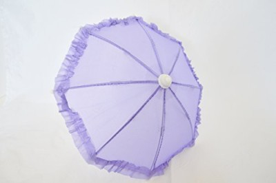 DollsHobbiesNmore Purple Umbrella For American Girl(Purple)