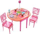Barbie Dessert Dining Room Set (Multicol...