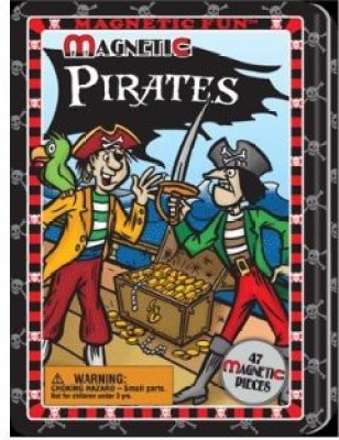 Lee Publications Magnetic Fun Tin Pirates