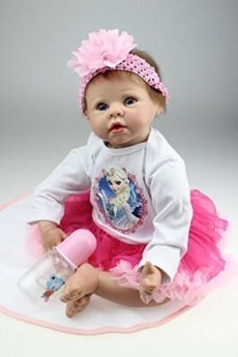 SanyDoll Reborn Ba Sba Growth Partnersheadband Pink Small Safflower