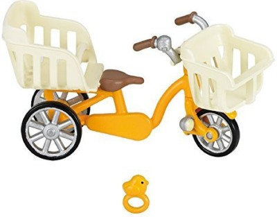 ePoch Sylvanian Families Furniture three-seater bicycle