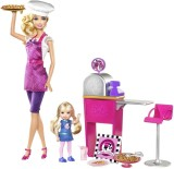 Barbie I Can Be... Pizza Chef Doll and P...
