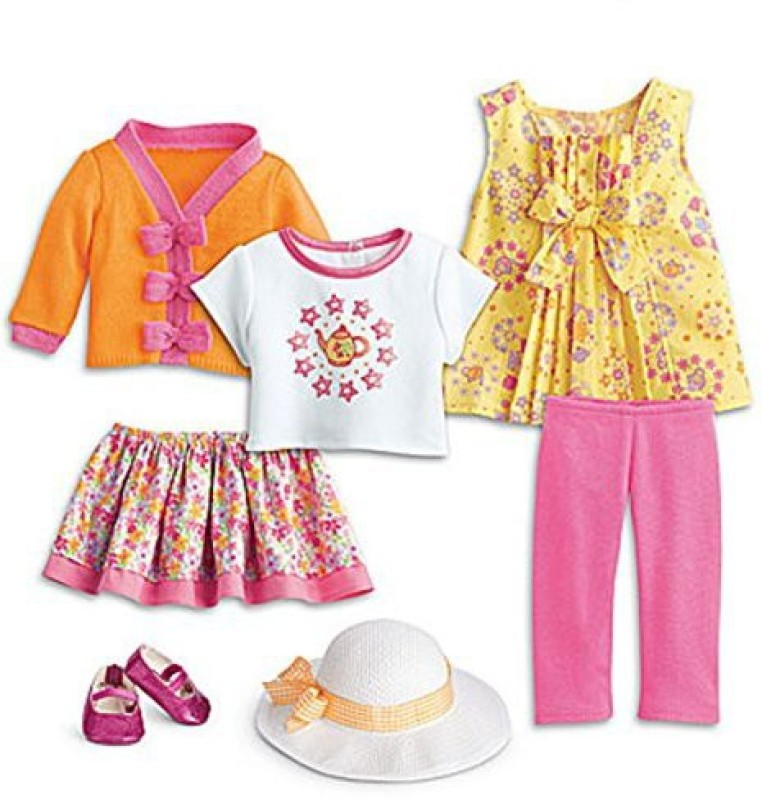 American Girl Bitty Ba Mix & Match Teatime Set For 15