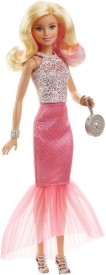 Barbie Pink fabulous gown doll assortment(Multicolor)