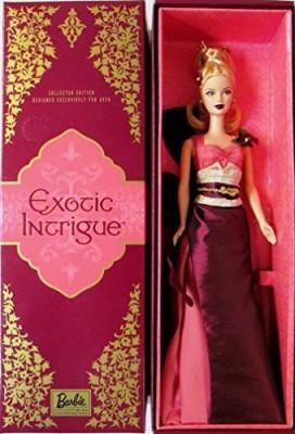 Mattel Exotic Intrigue Barbie(Maroon)